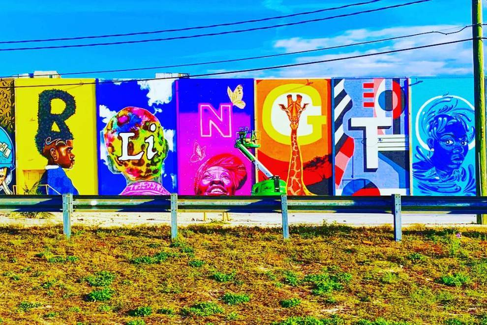Self-Guided Mural Tour