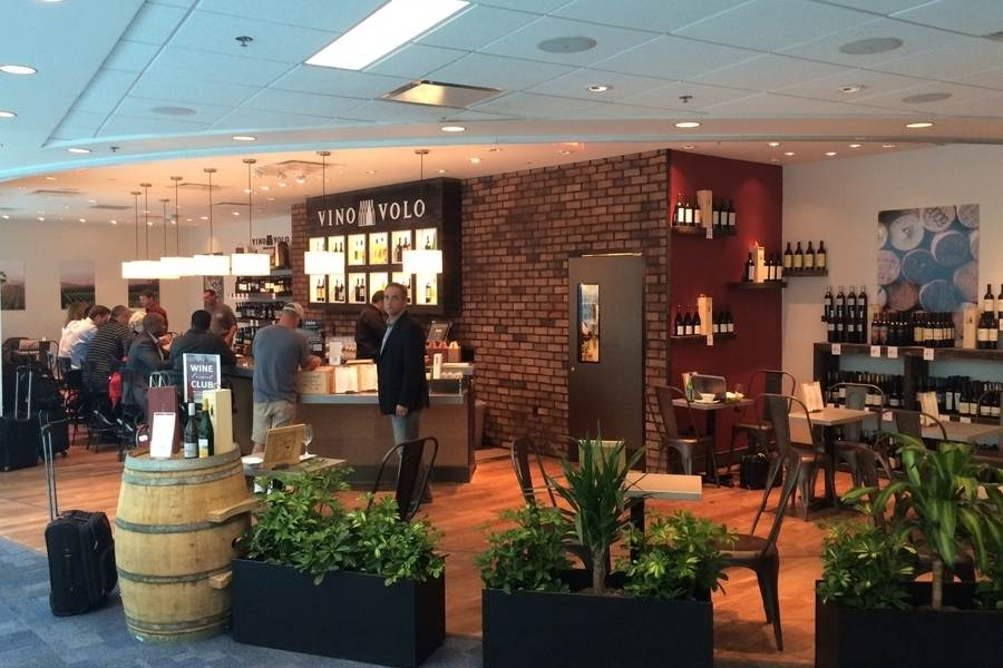 Vino Volo at Jacksonville Airport