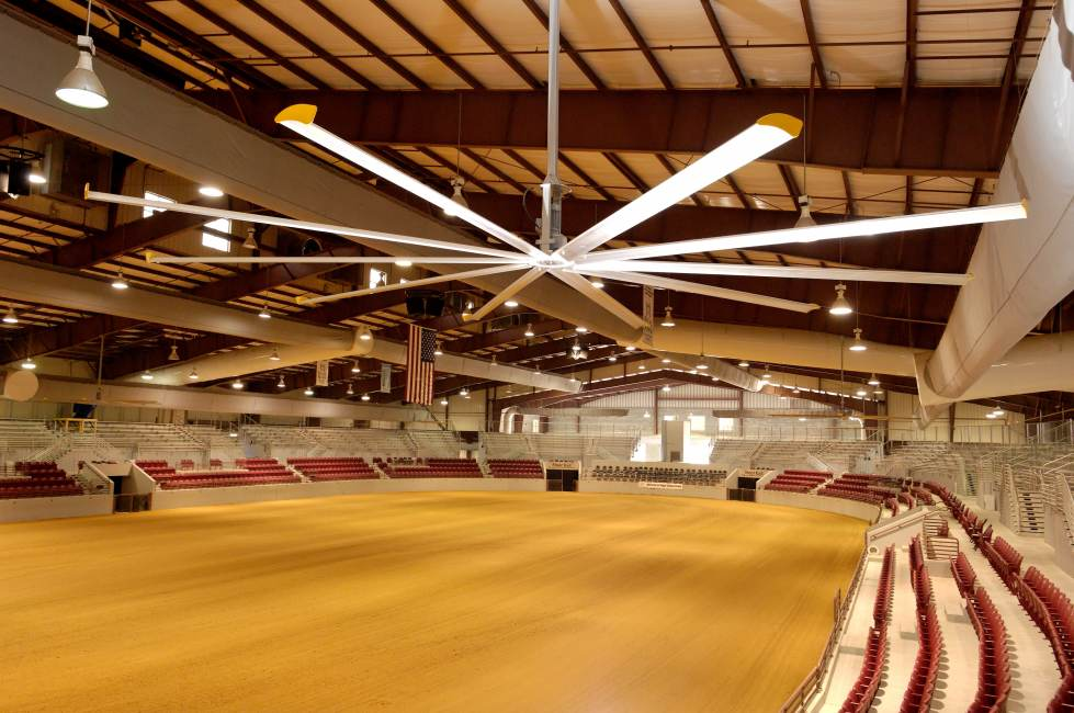 indoor arena Jacksonville Equestrian Center