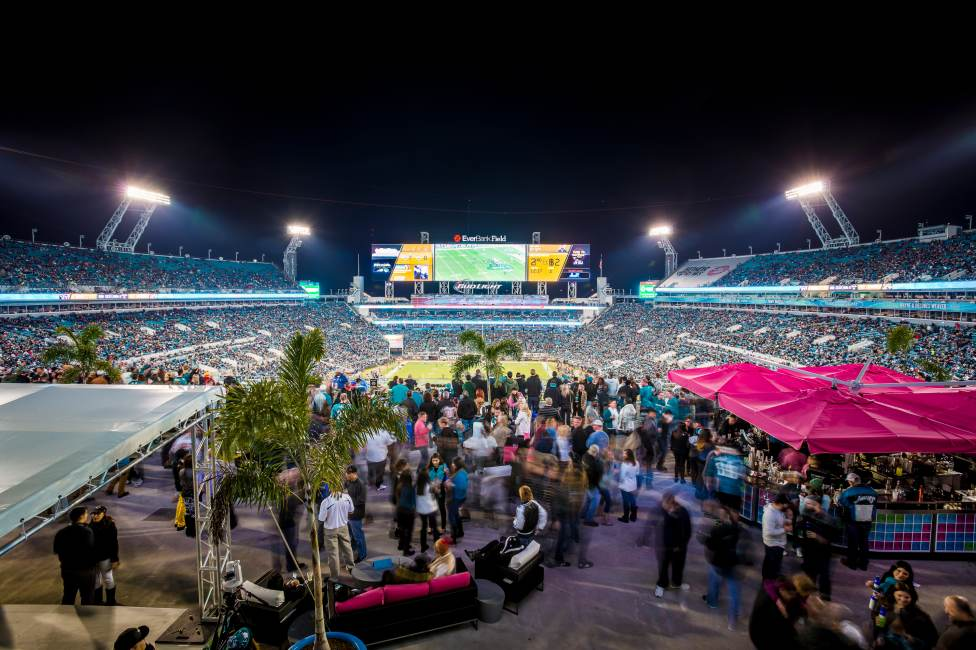 The Cabanas at EverBank Field