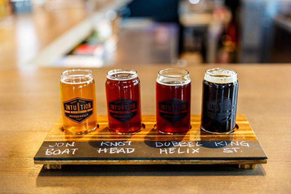 Intuition Beer Flight