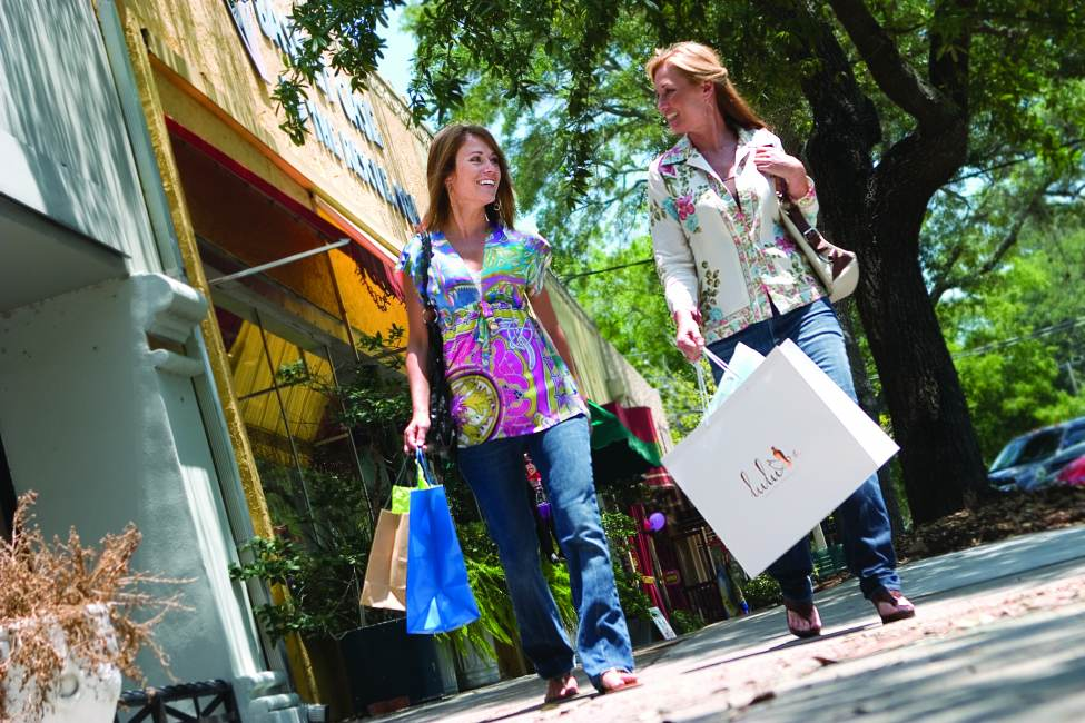 shopping trip among Jacksonville's local stores