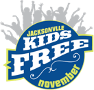 Kids Free Novemember logo